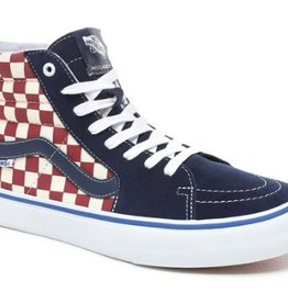 VANS VANS SK8 HI PRO - (CHECKER) DRESS BLUES