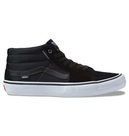VANS VANS SK8 MID PRO - (ANTI HERO) GROSSO/BLACK
