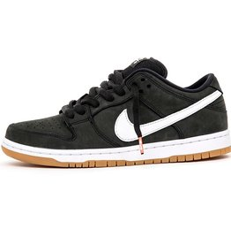 NIKE NIKE SB DUNK LOW PRO ISO - (ORANGE LABEL) BLACK/WHITE-BLACK