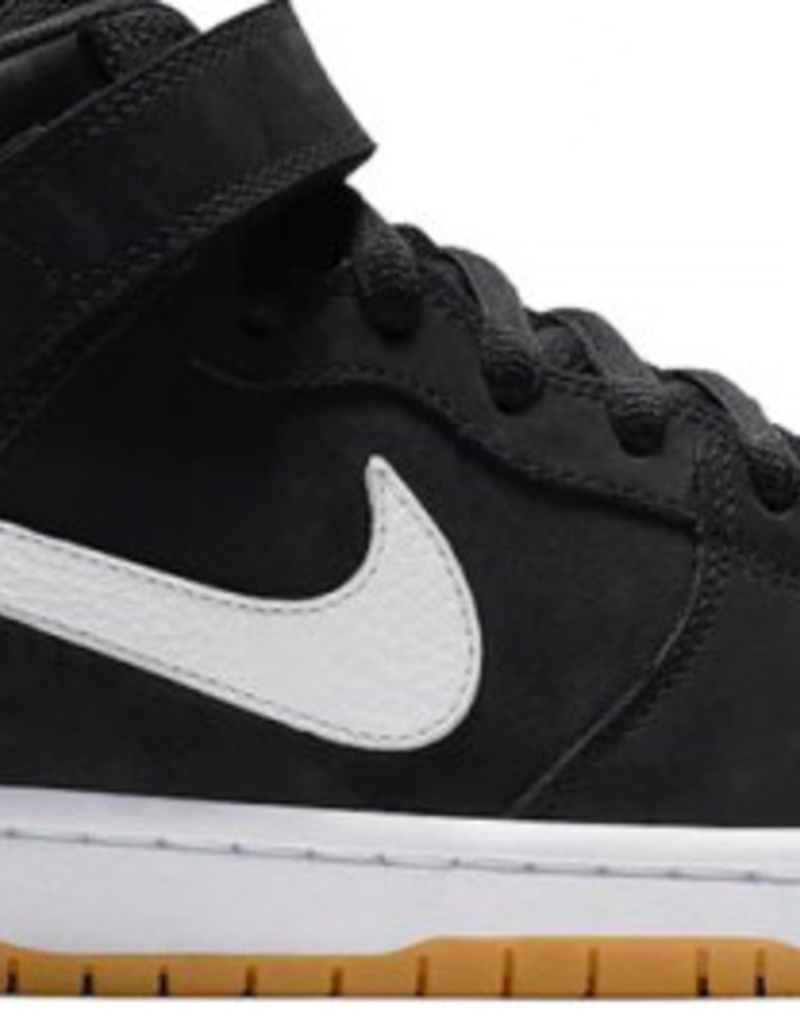 wholesale dealer 21824 42c4e NIKE NIKE SB DUNK MID PRO ISO - (ORANGE LABEL) BLACK/WHITE-BLACK