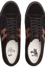 HUF FOOTWEAR HUF HUPPER 2 LO - BLACK