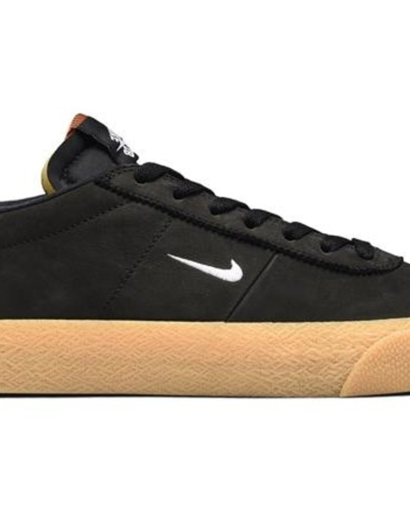 best service a0996 2ae04 NIKE NIKE SB ZOOM BRUIN ISO - (ORANGE LABEL) BLACK WHITE-SAFETY ...