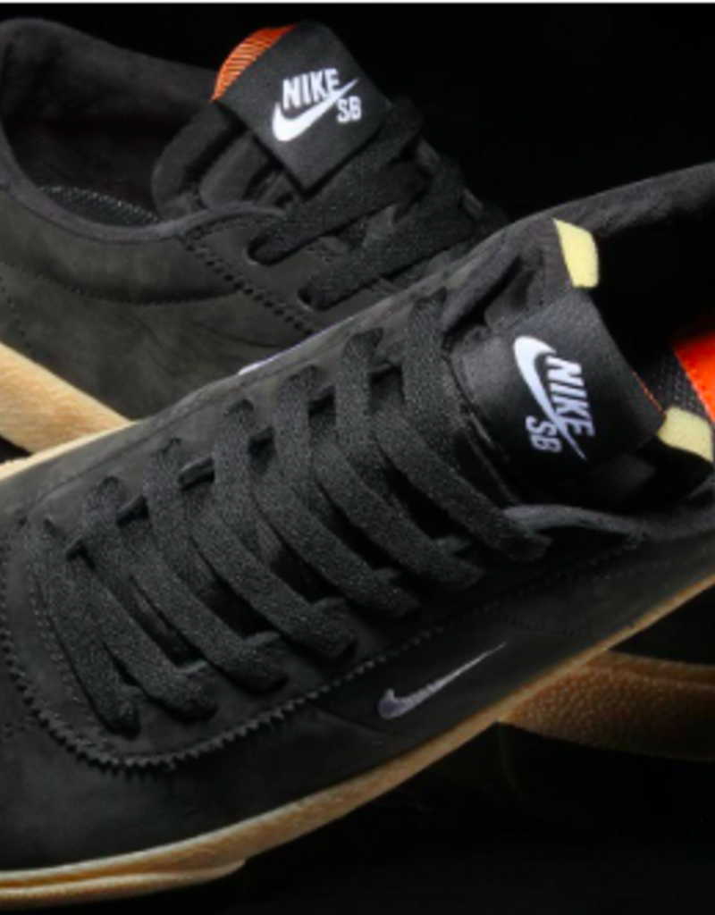 the best attitude 4dc15 90e8b ... NIKE NIKE SB ZOOM BRUIN ISO - (ORANGE LABEL) BLACK WHITE-SAFETY ...
