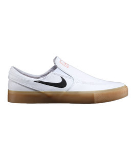 NIKE NIKE SB ZOOM JANOSKI SLIP RM ISO - (ORANGE LABEL) WHITE/BLACK-WHITE