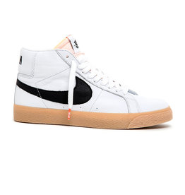 NIKE NIKE SB ZOOM BLAZER MID ISO - (ORANGE LABEL) WHITE/BLACK-SAFETY ORANGE