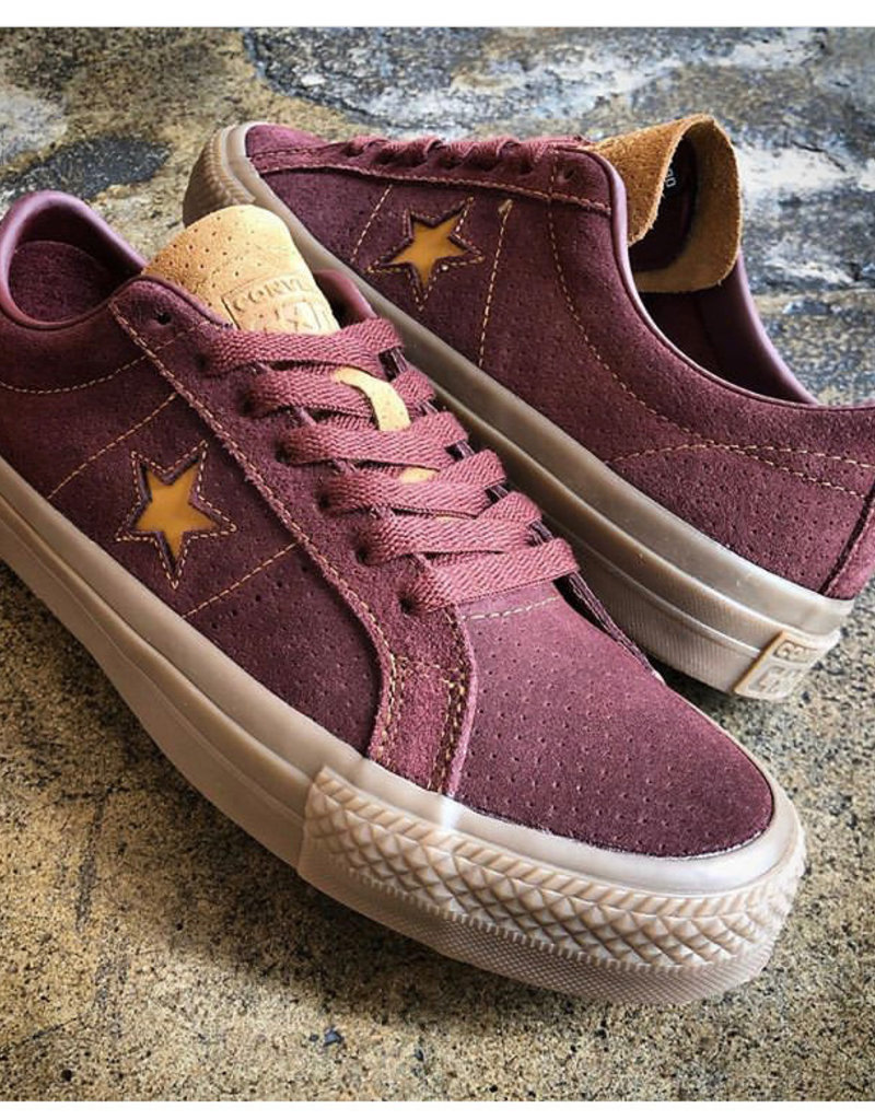 CONVERSE CONVERSE ONE STAR PRO OX - BARKROOT BROWN/ALE BROWN