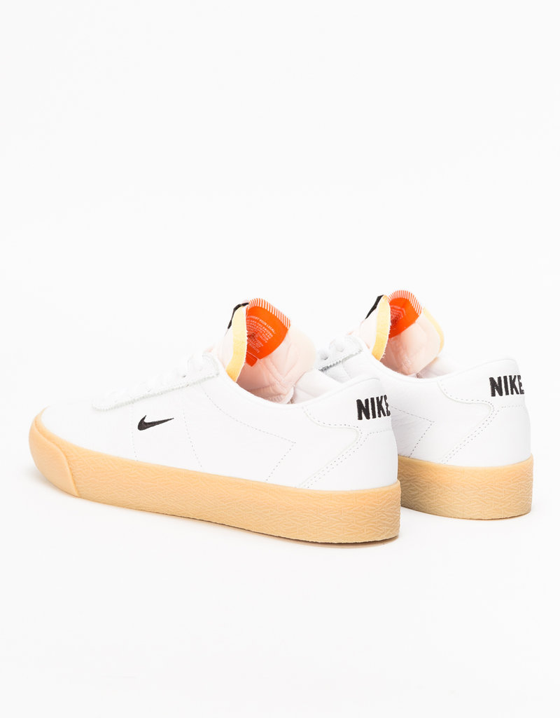 size 40 4ab90 6ba75 ... NIKE NIKE SB ZOOM BRUIN ISO - (ORANGE LABEL) WHITE BLACK-SAFTEY