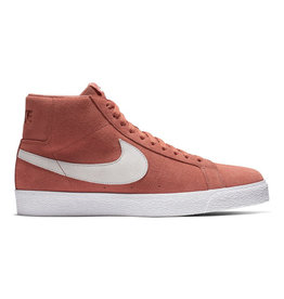 NIKE NIKE SB ZOOM BLAZER MID - DUSTY PEACH/WHITE