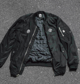 VANS VANS X PASS-PORT BOMBER JACKET - BLACK