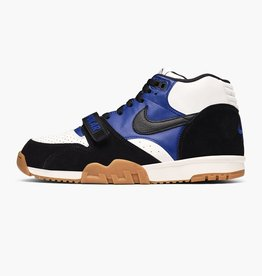 NIKE NIKE SB AIR TRAINER 1 QS - BLACK/BLACK-DEEP ROYAL BLUE