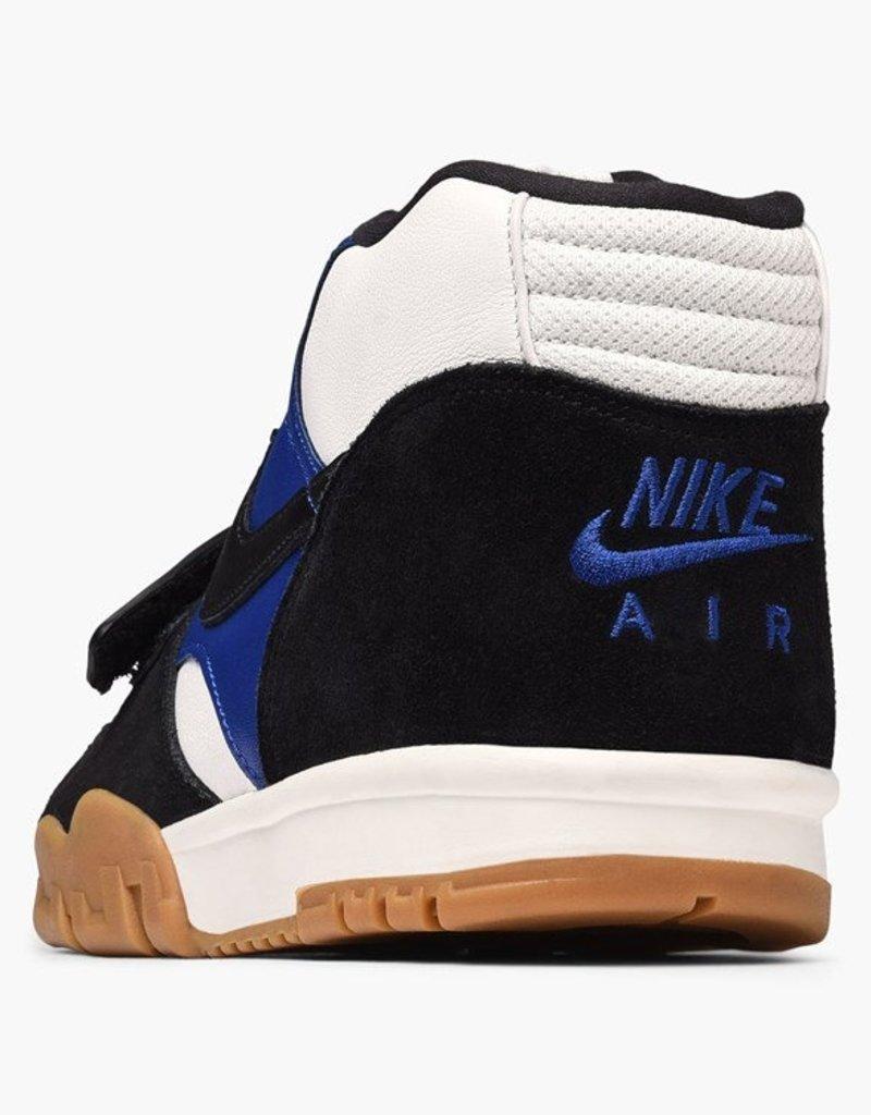 NIKE NIKE SB AIR TRAINER 1 QS - BLACK/BLACK-DEEP ROYAL BLUE