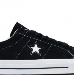 CONVERSE CONVERSE ONE STAR PRO OX - BLACK/WHITE/WHITE