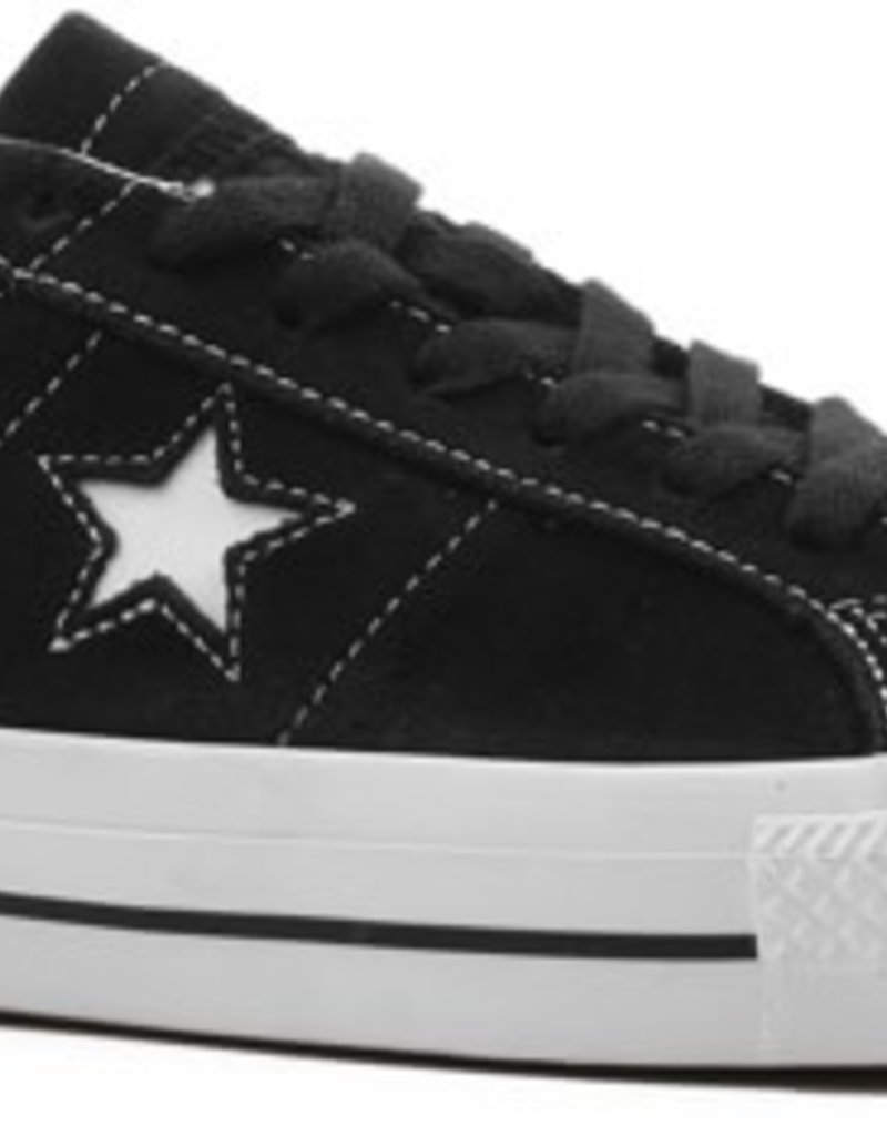 CONVERSE CONVERSE ONE STAR PRO OX - BLACK/WHITE/WHITE