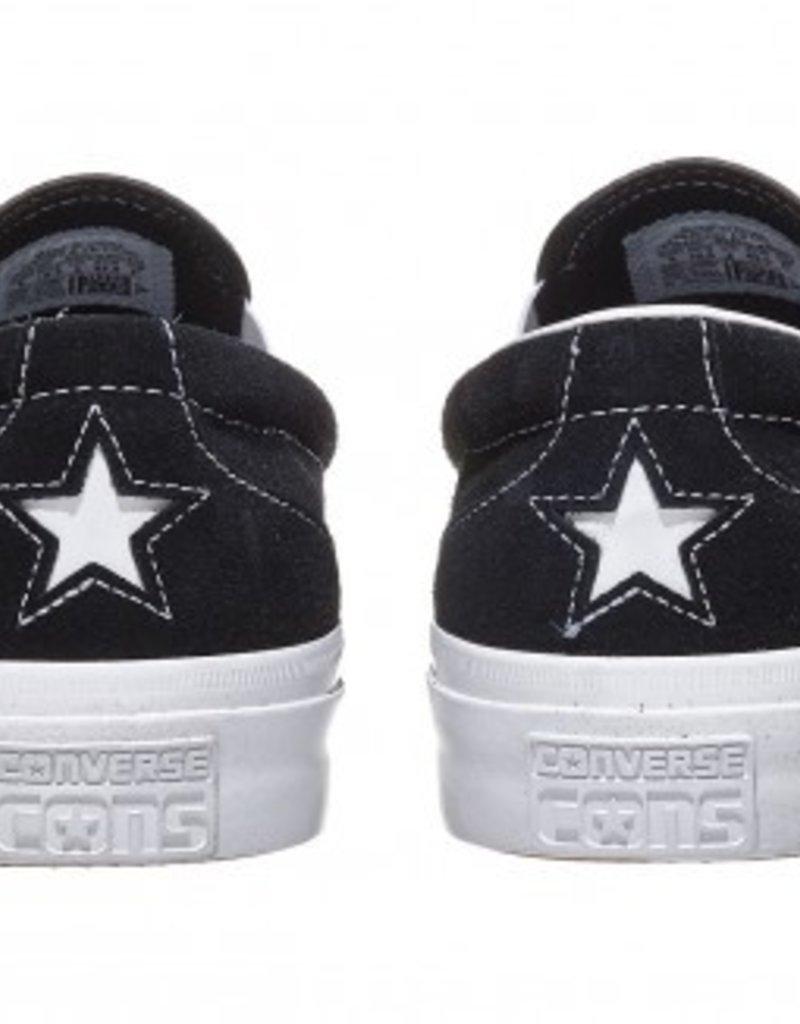 CONVERSE CONVERSE ONE STAR CC SLIP PRO - BLACK/WHITE/WHITE