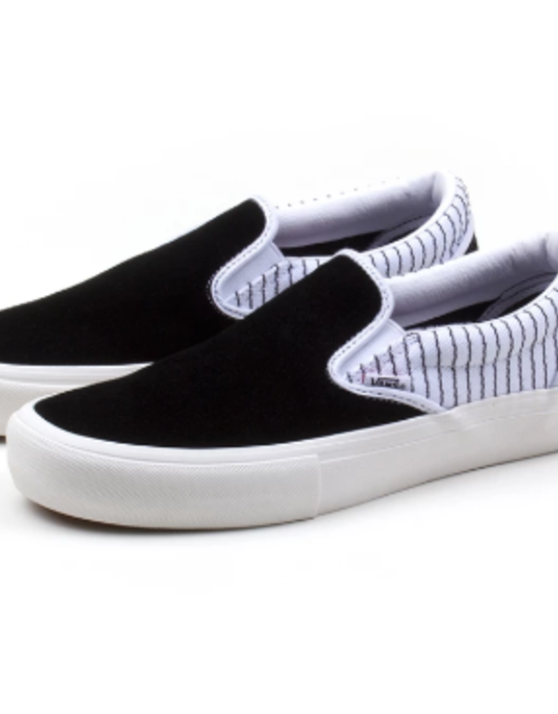 VANS VANS SLIP ON PRO - (PEELS) BLACK/TRU WHITE