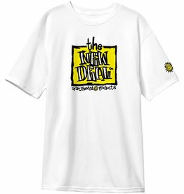 THE NEW DEAL THE NEW DEAL ORIGINAL NAPKIN LOGO S/S TEE - WHITE