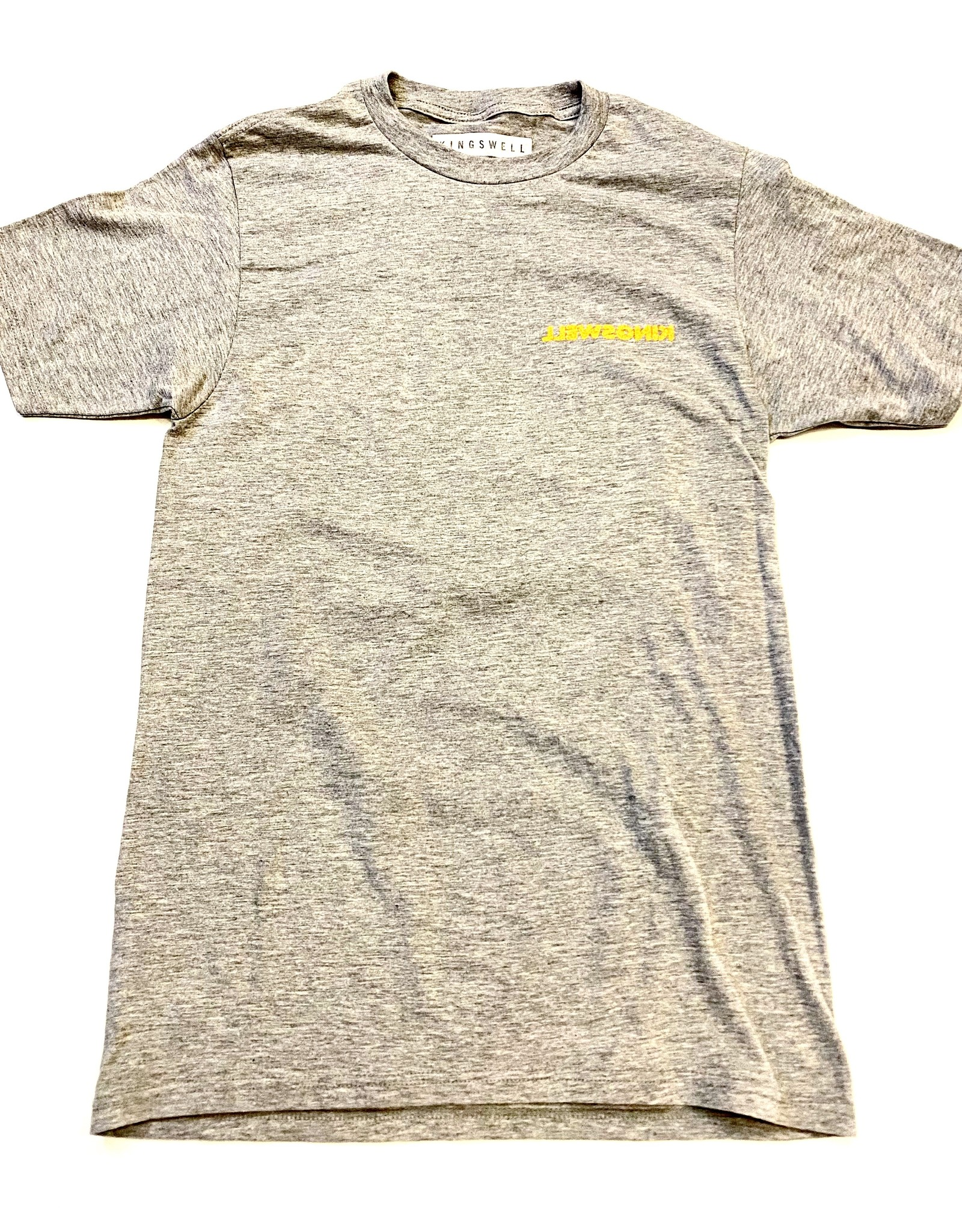 KINGSWELL KINGSWELL MOUSE RIPPER TEE - GREY