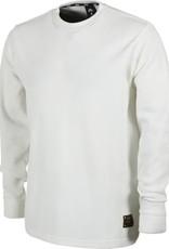 NIKE NIKE SB (ORANGE LABEL) LEO BAKER L/S THERMAL - WHITE