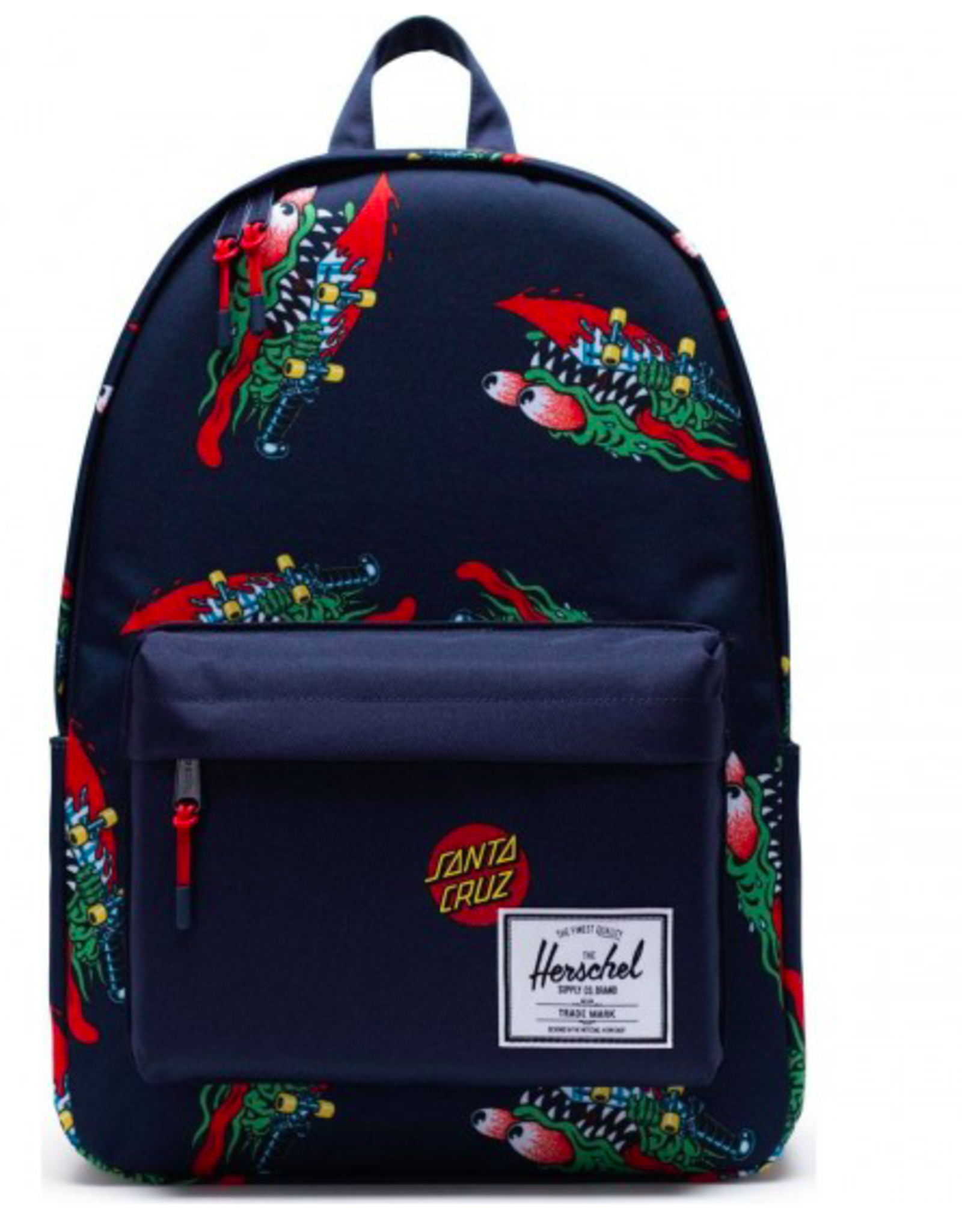 HERSCHEL HERSCHEL X SANTA CRUZ CLASSIC X-LARGE BACKPACK - SLASHER/PEACOAT/TRUE RED