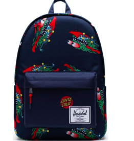 HERSCHEL HERSCHEL X SANTA CRUZ CLASSIC X-LARGE - SLASHER/PEACOAT/TRUE RED