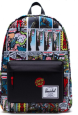 HERSCHEL HERSCHEL X SANTA CRUZ CLASSIC BACKPACK X-LARGE - PORKCHOP HILL/BLACK