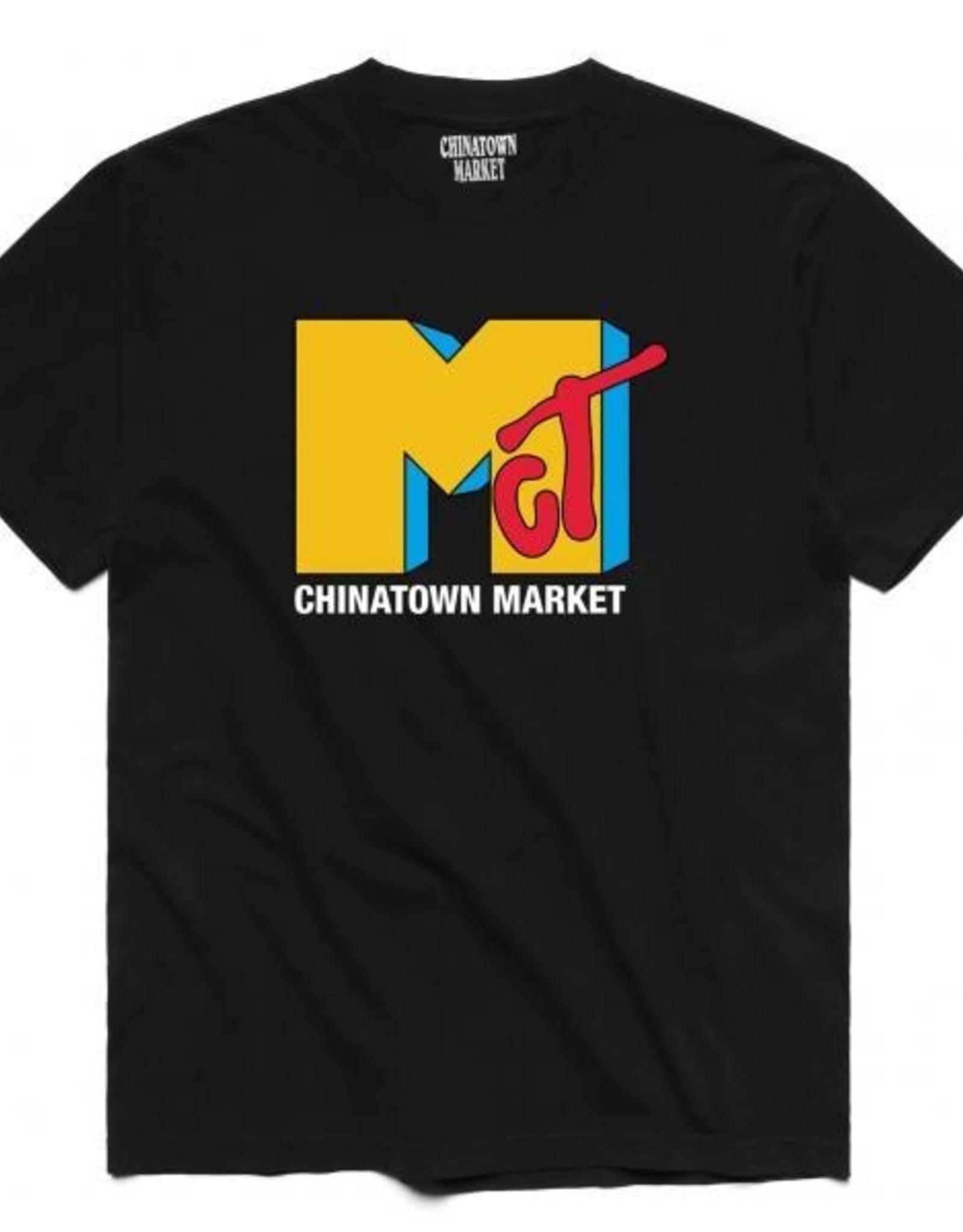 CHINATOWN MARKET CHINATOWN MARKET T.V. TEE - BLACK