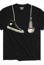 CHINATOWN MARKET CHINATOWN MARKET SHOES TEE - BLACK