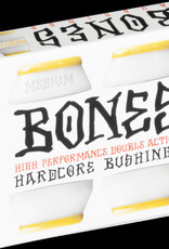 BONES HARDCORE BUSHINGS WHITE - MEDIUM