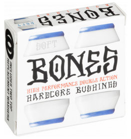BONES HARDCORE BUSHINGS WHITE - SOFT