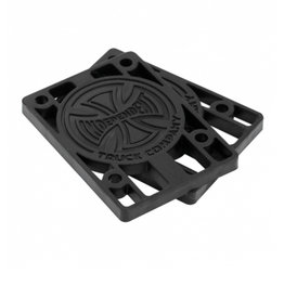 INDEPENDENT INDEPENDENT 1/4 INCH RISERS - BLACK