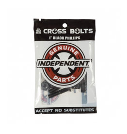 INDEPENDENT INDEPENDENT PHILLIPS CROSS HARDWARE BLACK - 1 INCH