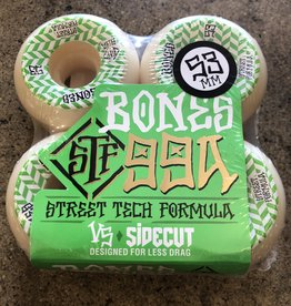 BONES PATTERNS STF V5 SIDECUT 99A WHEEL - 53MM