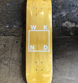 WKND LOGO - WHITE (ASSORTED COLORS) DECK - 7.75