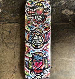 ES LA BOOM SKATEBOARDS ES LA BOOM MATT PAILES ARTIST DECK (TEAM SHAPED) - 8.5