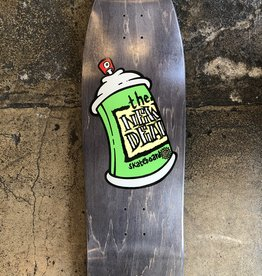 THE NEW DEAL NEW DEAL SPRAY CAN (SCREEN PRINT) DECK - 9.75