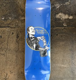 POLAR SKATE CO. OSKAR ROZENBERG THE COUNT BLUE DECK - 8.0