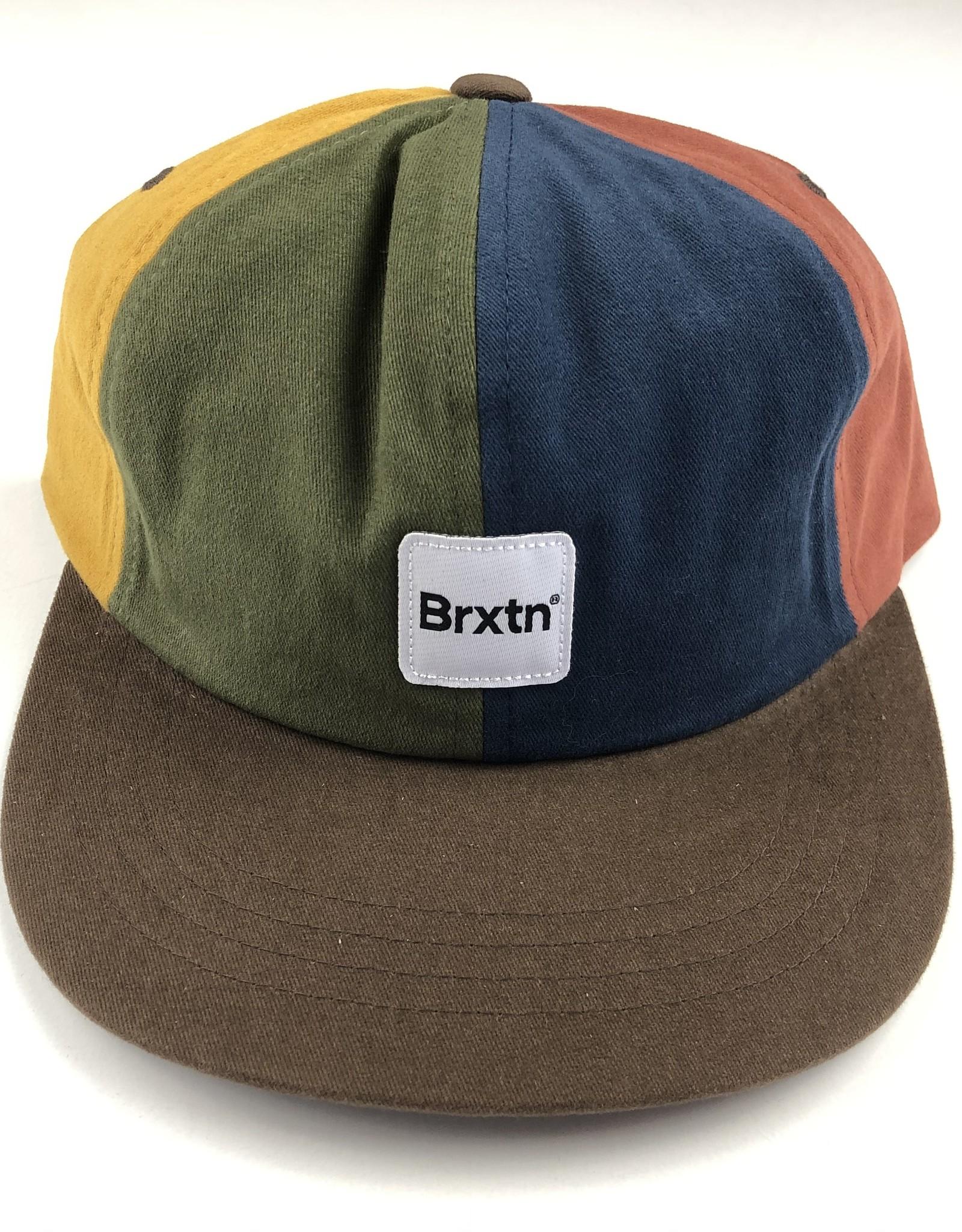 BRIXTON BRIXTON GATE 2 LP CAP HAT - MULTI