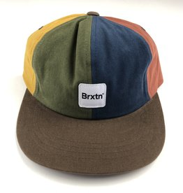 BRIXTON BRIXTON GATE 2 LP CAP HAT - MULTI