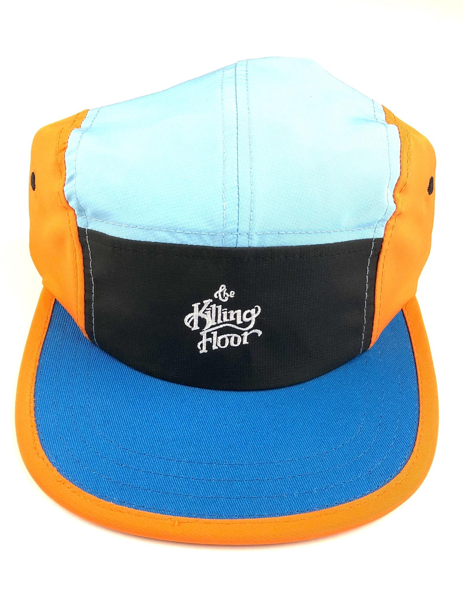THE KILLING FLOOR THE KILLING FLOOR COLORS VOLLEY CAP HAT - ORANGE/CERULEAN