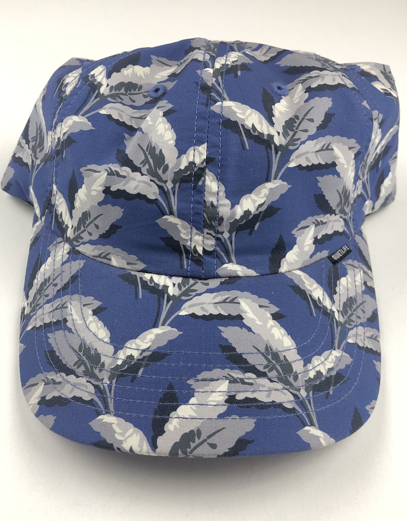 QUIET LIFE PALM POLO HAT - NAVY/BLUE