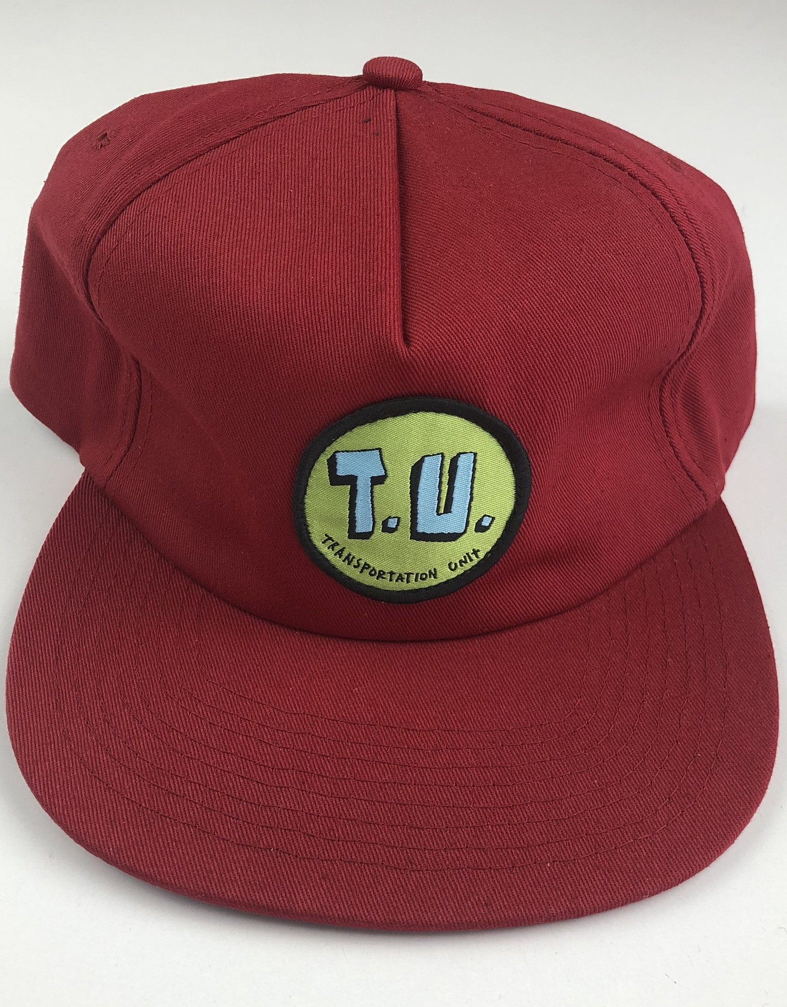 TRANSPORTATION UNIT TRANSPORTATION UNIT T.U. CLASSIC HAT - MAROON