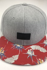 VANS VANS CLASSIC PATCH SNAPBACK HAT - HEATER GREY/ST