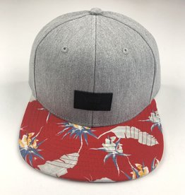 VANS VANS CLASSIC PATCH SNAPBACK HAT - HEATER GREY/ST