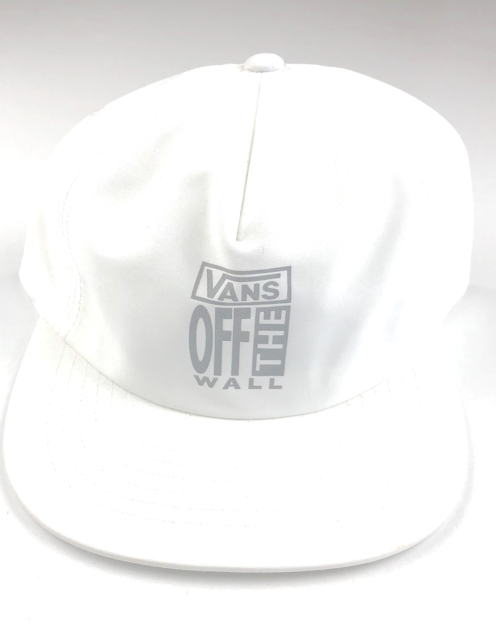 VANS VANS AVE LOCKUP SHALLO HAT - WHITE