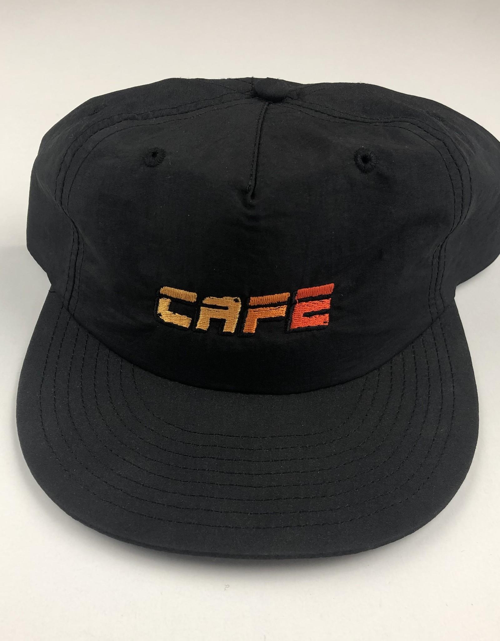 SKATEBOARD CAFE SKATEBOARD CAFE RACER SURF CAP HAT - BLACK