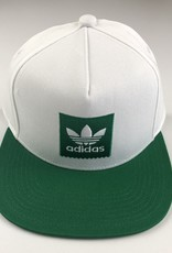 ADIDAS ADIDAS 2TONE SNAPBACK HAT - WHITE/GREEN