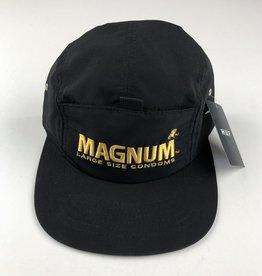 HUF MAGNUM STASH POCKET VOLLEY HAT - BLACK