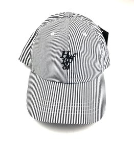 HUF DISORDER CV 6 PANEL HAT - WHITE