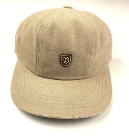 BRIXTON BRIXTON B-SHIELD 3 CAP HAT - PARCHMENT