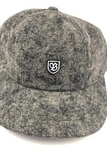 BRIXTON BRIXTON B-SHIELD 3 CAP HAT - BLACK ACID WASH
